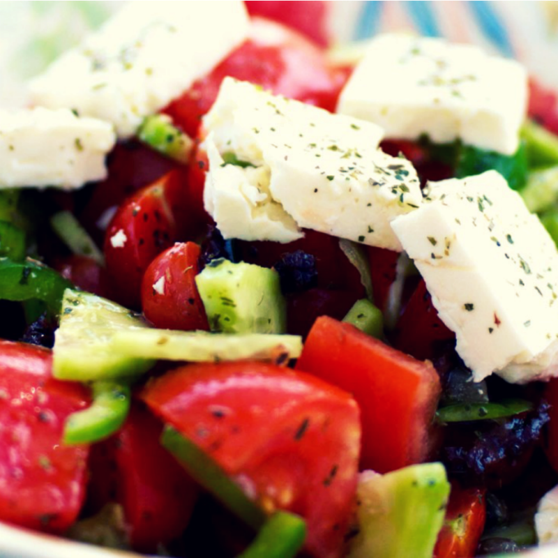 'Salata Horiatiki'<br /> (Greek Salad)